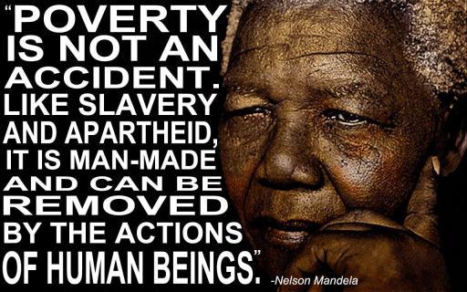 mandela poverty